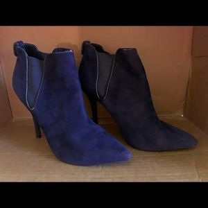 Boston Proper Bootie Navy Blue 8.5 ankle boots
